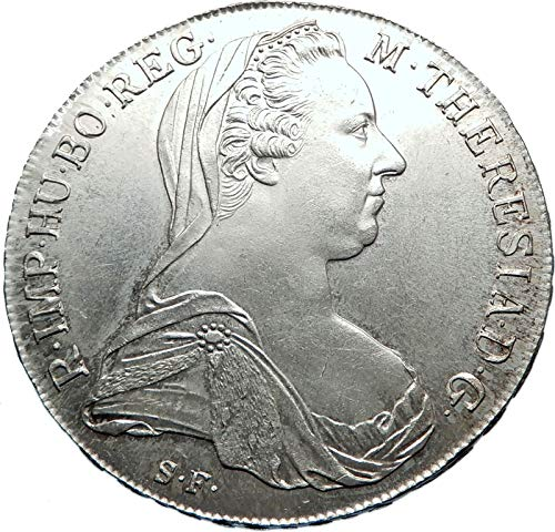 1780 unknown 1780-1960 Maria Theresa Austria Germany Queen AR coin Good