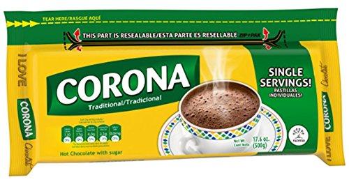 (CORONA CHOCOLATE RESEALABLE17.6 OZ UNIT)