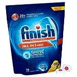 Finish All in One Max Lemon Dishwashe...