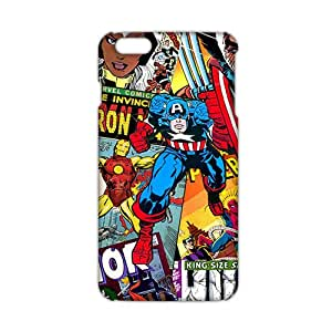 Ultra Thin 3D Case Cover The Avengers Phone Case for iPhone6 plus