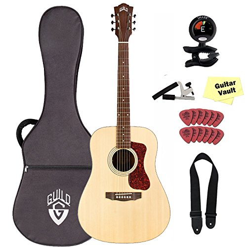 - Guild D-240E Acoustic-Electric Guitar in Natural