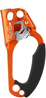 simhoa Safety Chest Ascender 8-13mm Rope Clamp for Caving Rock Climbing Rappel Rescue