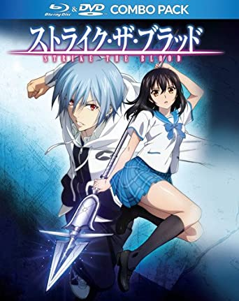 Strike The Blood DVD BD TV Series Collection