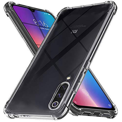 - Ferilinso Case for Xiaomi Mi 9 SE,Ultra [Slim Thin] Scratch Resistant TPU Rubber Soft Skin Silicone Protective Case Cover for Xiaomi Mi 9 SE Case (Clear)