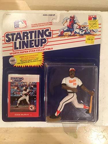 Orioles Baltimore Lineup - 1988 Eddie Murray Baltimore Orioles Starting Lineup Figure