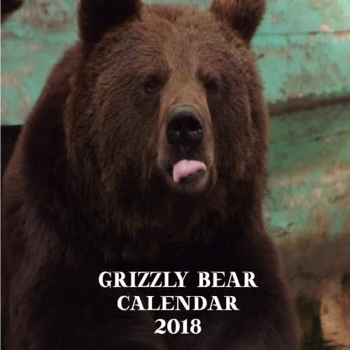 Download Grizzly Bear Calendar 2018: Grizzly 2018 Calendar 8.5 x 8.5 12 Month Colorful Bear Images ebook