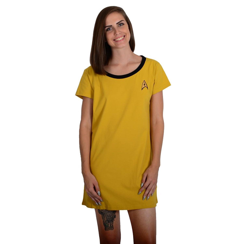 Amazon robe factory star trek womens sleep shirt clothing buycottarizona