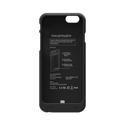 239 opinioni per Batteria iPhone 6 RAVPower Custodia Batteria Protettiva per iPhone 6 / 6S da