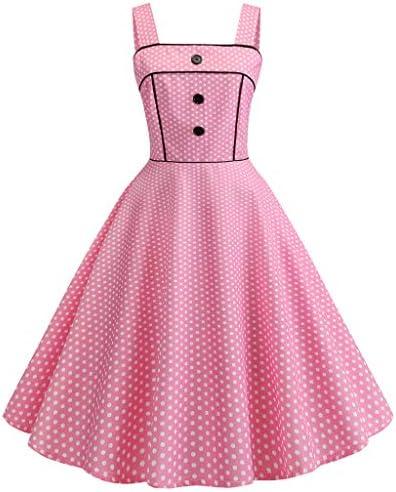 dress Foreted レディース ワンピース体型カバーForetedヴィンテージ風1950年代ロカビリーエレガントプリント花柄オードリードレスレトロカクテルドレス女性古典的シック水玉柄Aラインワンピース