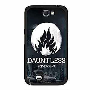 Fashionable City Background Divergent Dauntless Phone Case Cover for Samsung Galaxy Note 2 N7100 Divergent Logo Hot Design Cover Shell