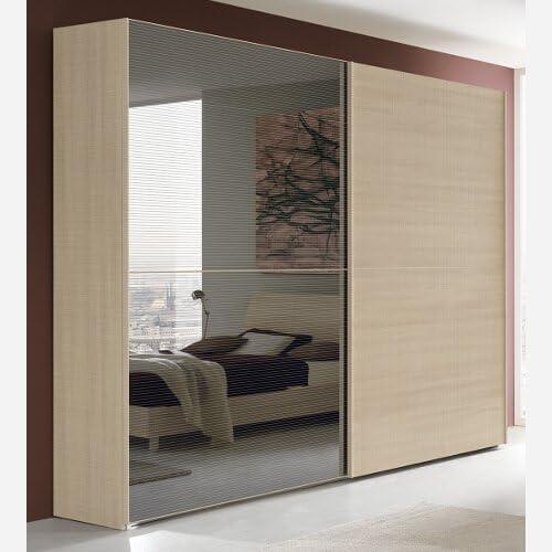 Armario Dormitorio de 2 Puertas correderas – va1108: Amazon.es: Juguetes y juegos