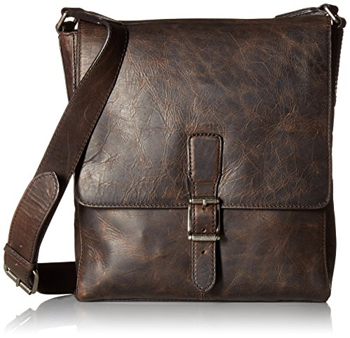 Frye Men's Logan Small Messenger, Slate by FRYE