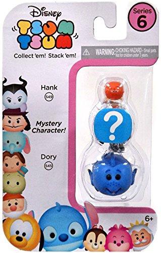 Dory/HIDDEN/Hank - 3 Pack Disney Tsum Tsum Series 6
