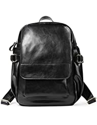 DoDoLove Leather Backpack Purse for Women Travel Rucksack Fashion School Bag