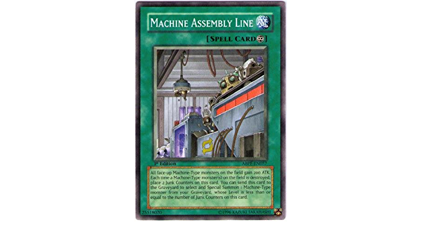 Machine Assembly Line ABPF-EN057 Common Yu-Gi-Oh Card Mint 1st Edition New
