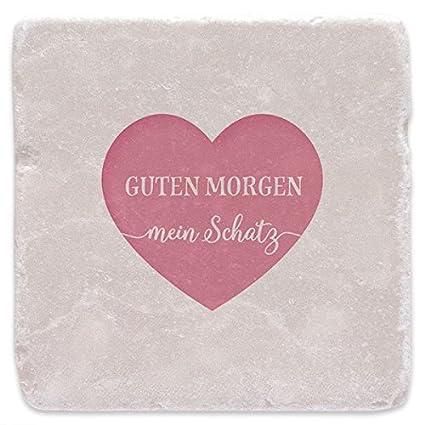 Nostalgico Marmor Untersetzer Guten Morgen Mein Schatz Original Geschenk