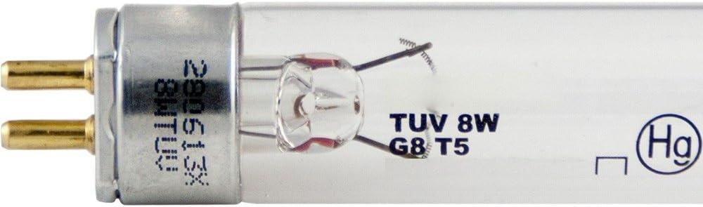 LSE Lighting Replacement Light Bulb for Aquanetics UV 8W UV |G8T5|