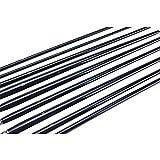 Marrywindix 9pcs Flat Pointed Tip Nylon Hair