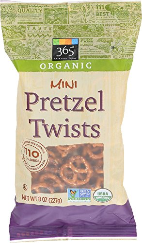 365 Everyday Value, Organic Mini Pretzel Twists, 8 oz