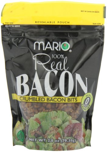 Mario Camacho Crumbled Bacon Bits, 2.8-Ounce Packages (Pack of 6) by Mario Camacho