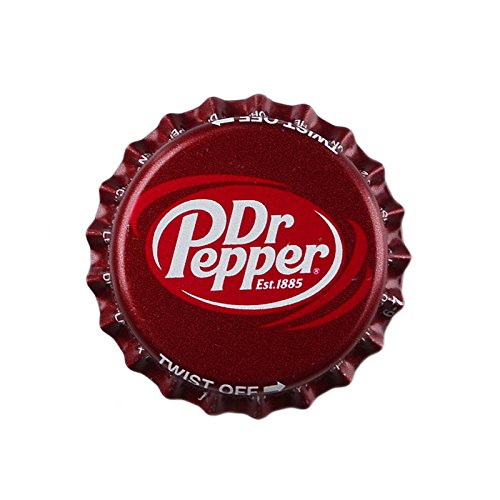 (Dr Pepper Strong Handmade Fridge Magnet)