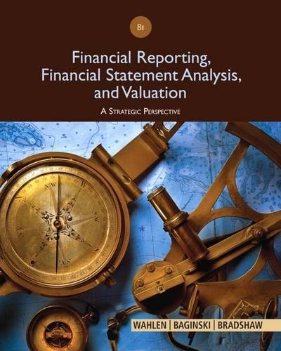 1285190904 - Financial Reporting, Financial Statement Analysis and Valuation
