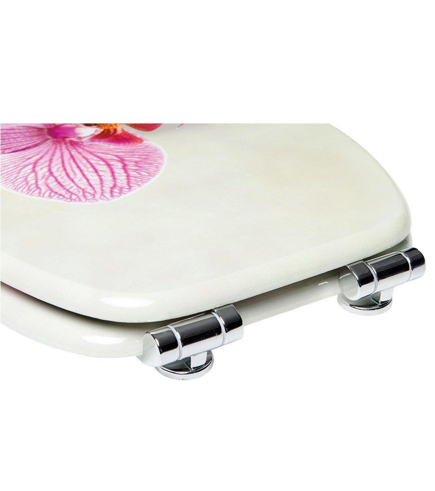 Burbuja Asiento para inodoro de cierre suave gran selecci/ón de atractivos asientos de inodoro con calidad superior y duradera de madera
