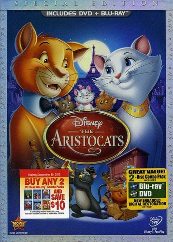 DVD : The Aristocats (With Blu-Ray, Special Edition, , Widescreen, 2 Disc)