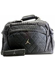Nike Jordan Jumpman Logo Black Medium Duffle Bag