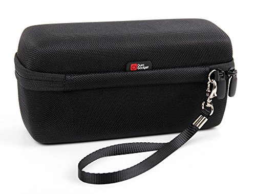 DURAGADGET Black EVA Strong Hard Travel Case with Zip Compatible with Philips Series 9000 Wet & Dry Men's Electric Shaver