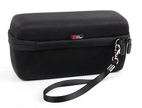 Price comparison product image DURAGADGET Black EVA Strong Hard Travel Case with Zip for Panasonic ES2207P Shaver