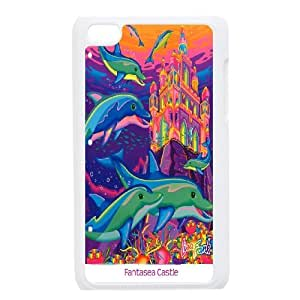 [MEIYING DIY CASE] FOR IPod Touch 4th -Dolphins and Sea Pattern-IKAI0447366