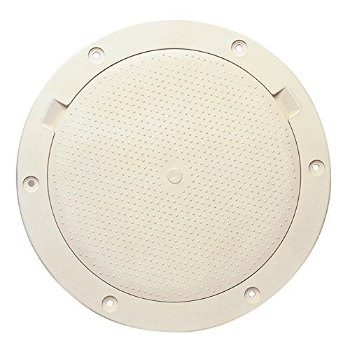 - Beckson 8-Inch Beige Deck Plate, Pry Out (Renewed)