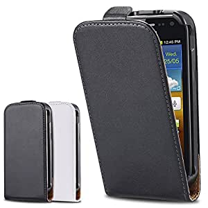 Genuine Vintage Real Leather Case for For Samsung Galaxy Ace 2 i8160 8160 Korea Style Flip Mobile Phone Bag Cover YXF02402 --- Color:White