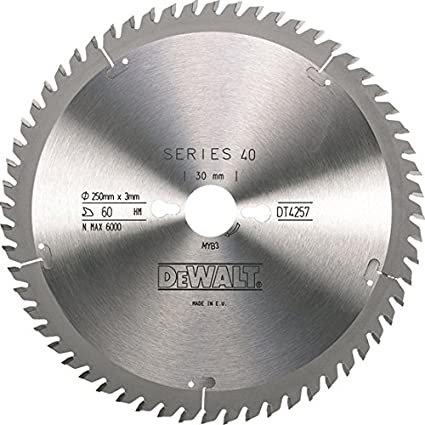 Dewalt DW03210-IN Saw Blade 254mm 80T Aluminum