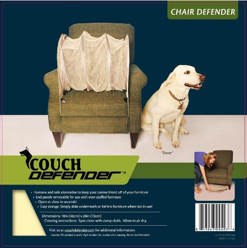 (Couch Defender Chair Defender: Keep Pets Off of Your Furniture, Beige)