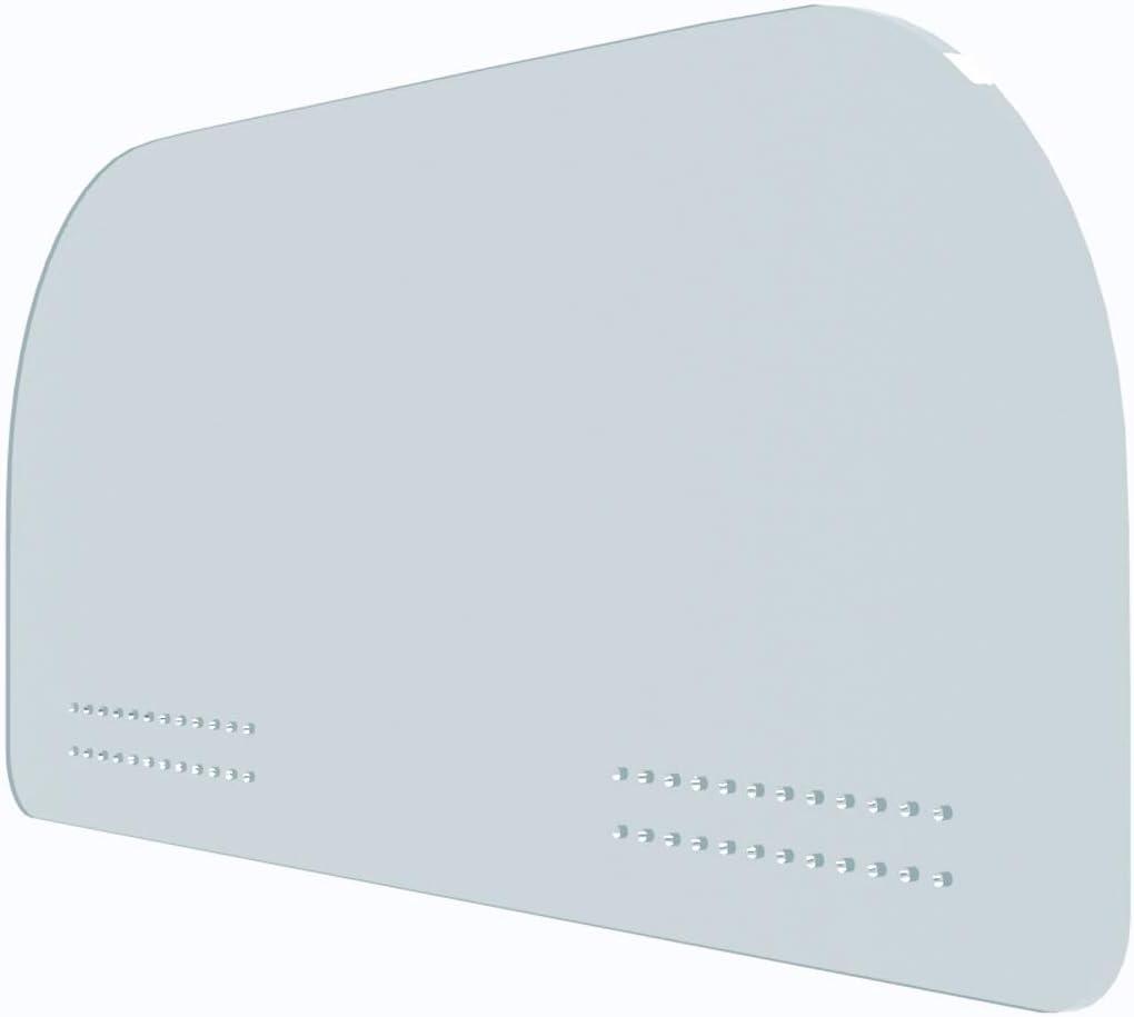 Evita posibles Contagios Oedim Mamparas de protecci/ón para Coches 105x41cm Separador Ideal Entre Conductor y Cliente