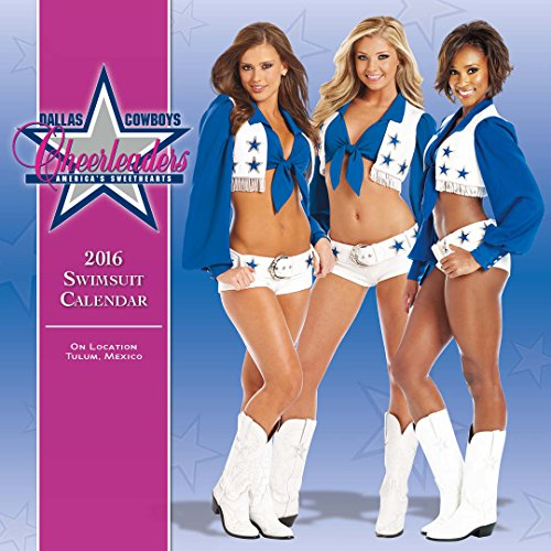 Turner Dallas Cowboy Cheerleaders 2016 Wall Calendar, 15 x 15
