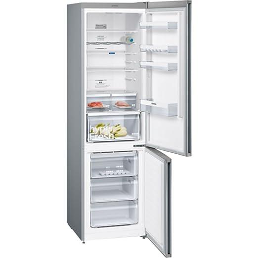 Siemens iQ300 KG39NXI4A Independiente 366L A+++ Acero inoxidable nevera y congelador - Frigorífico (366 L, Antiescarcha (nevera), SN-T, 14 kg/24h, ...