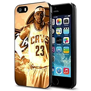 NBA Cleveland Cavaliers Lebron James Sepia Full, Cool iPhone 5c Case Cover