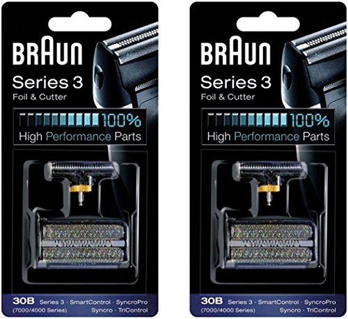 s 4000 Series Mens Shaver Foil + Cutter Set Head Replacement, 2 Count ()