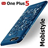Mobistyle For One Plus 5 (1+5) /One Plus 5 Hybrid Anti-Knock 360 Degree Armor 3D Carved Dragon Protector Shell Slim Armor Shock Proof Skin Backcase Cover (Black)