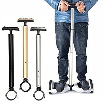 Manillar para monopatín autoequilibrado eléctrico, para principiantes, plata: Amazon.es: Deportes y aire libre