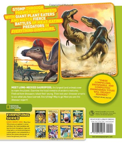 National Geographic Kids Everything Dinosaurs: Chomp on Tons of Earthshaking Facts and Fun by imusti (Image #1)