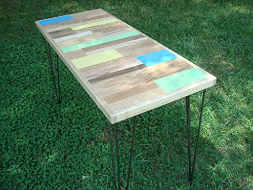 Reclaimed Wood Painted Table Reclaimed Wood Table