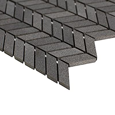 "MAYKKE 12"" x 11"" Holden Mosaic Wall and Floor Tile 