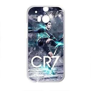 Happy Cool Cristiano Ronaldo Design Hard Case Cover Protector For HTC M8
