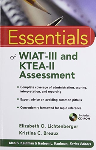 Essentials of WIAT-III and KTEA-II Assessment by Elizabeth O. Lichtenberger (2010-03-08)