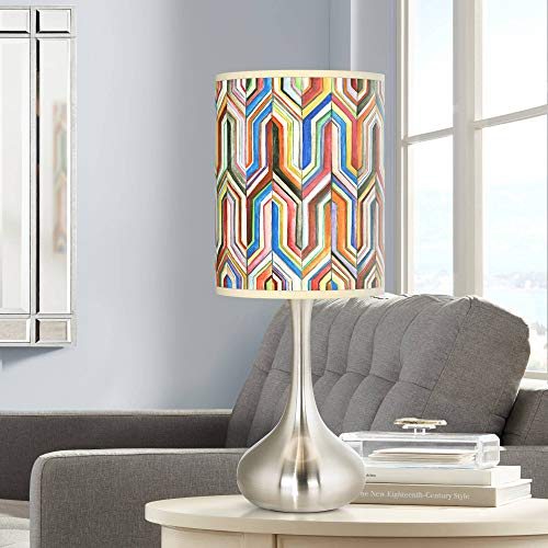Synthesis Giclee Droplet Table Lamp - Giclee Glow
