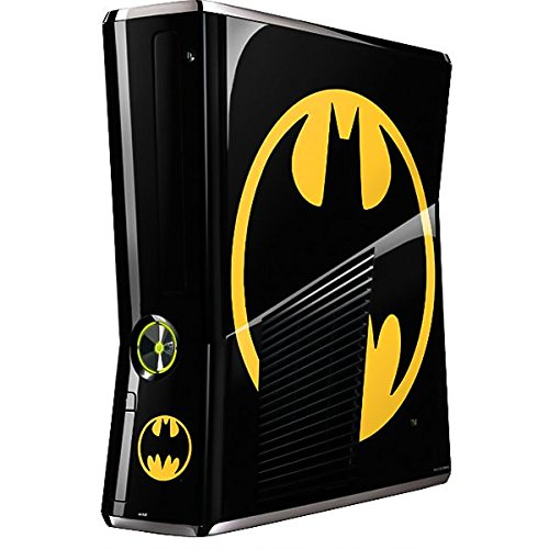 DC Comics Batman Xbox 360 Slim (2010) Skin - Batman Logo Vinyl Decal Skin For Your Xbox 360 Slim (2010)
